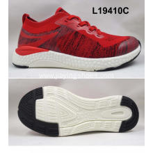 Breathable sneakers knit mesh running sport shoes